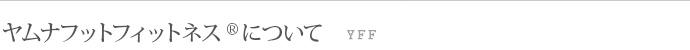 ヤムナボフットフィットネス(YFF)について